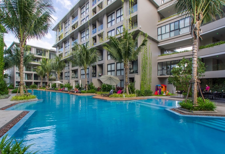 Apartment Near Bangtao Beach 2bdr 2bth, Choeng Thale, Outdoor Pool