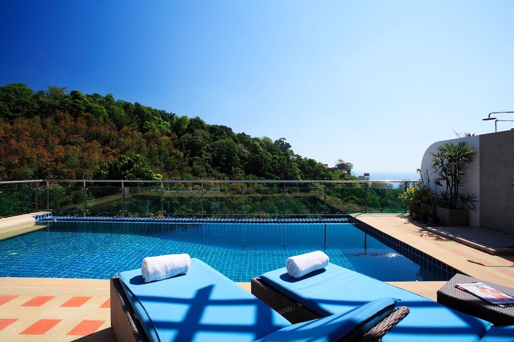 Premium penthouse, 3 slaapkamers, privézwembad - Privézwembad