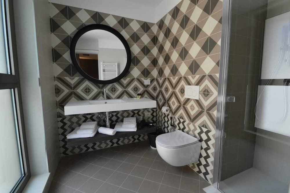 經典開放式客房 (no elevator - 101) - 浴室