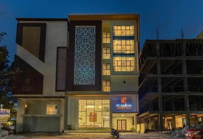 YC Grand Boutique Hotel, Bengaluru, Hótelframhlið