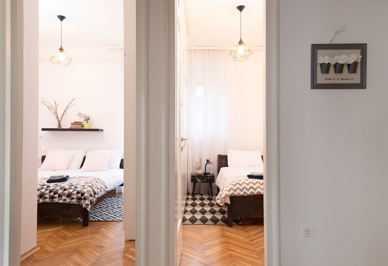 Modern Spacious 3bdr Apartment in Heart of Zagreb, Zagreb, Appartement (3 Bedrooms), Kamer