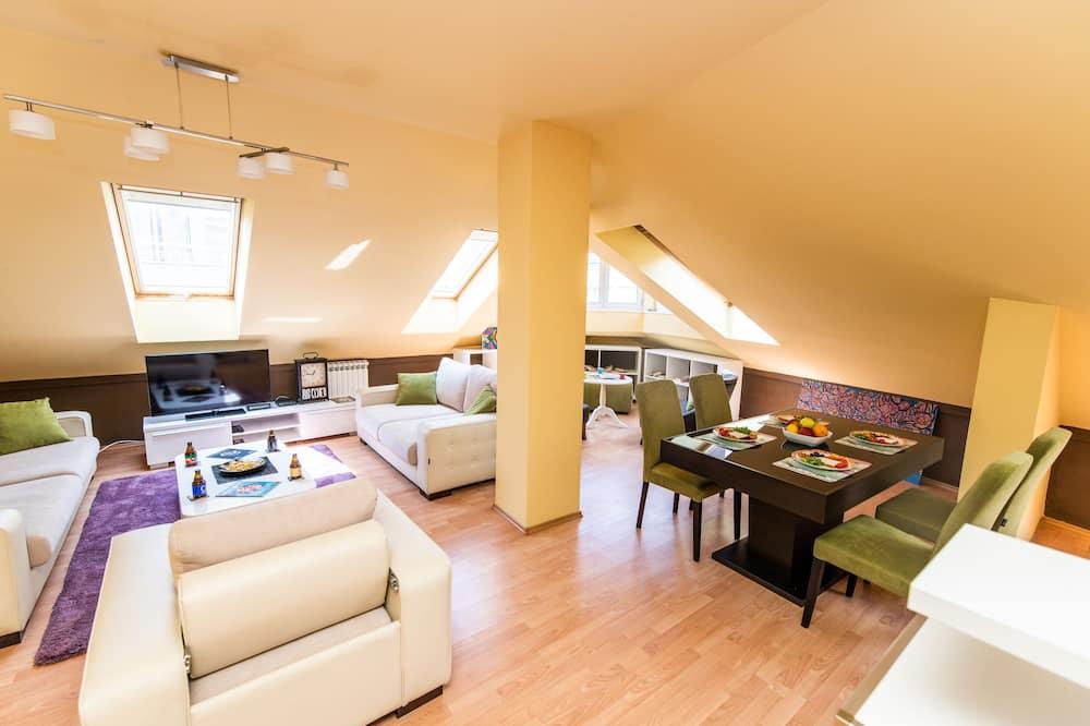 樓中樓客房 (2 Bedrooms) - 客廳