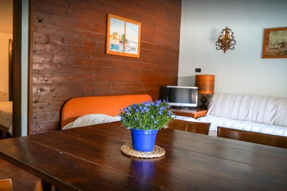 Huoneisto, 1 makuuhuone (Rosa) - Oleskelualue