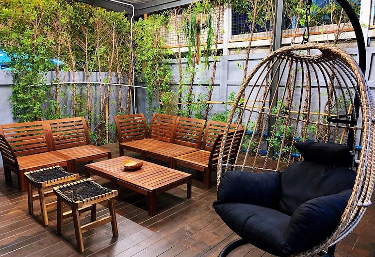 バッドベッド ホテル, バンコク, ロビー応接スペース