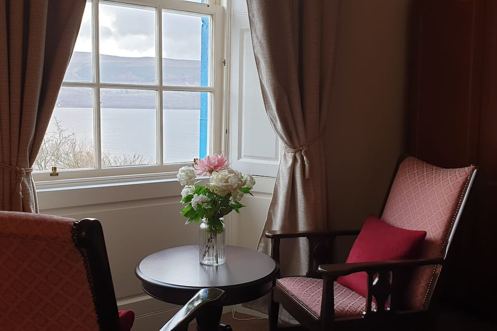 Deluxe-dobbeltværelse - Opholdsområde