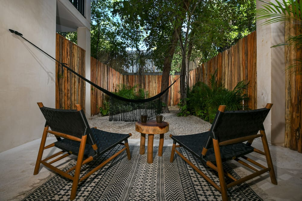 King Suite with Terrace and Garden - Útsýni yfir garð