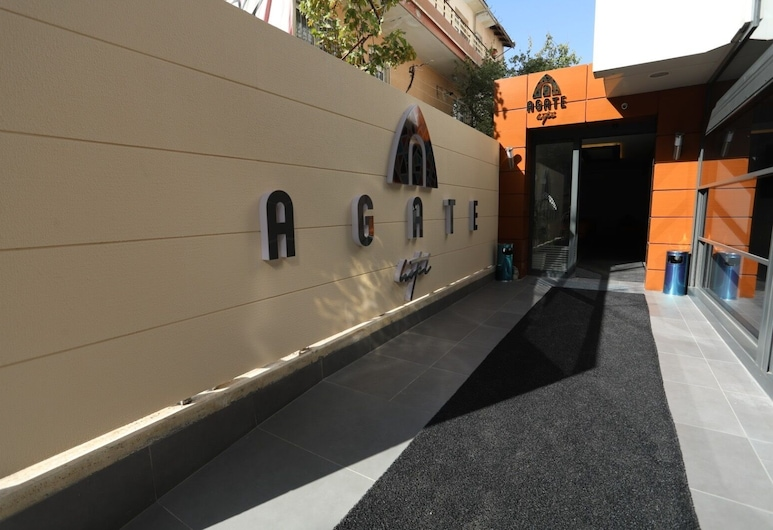 Agate Hotel, อังการา, ทางเข้าโรงแรม