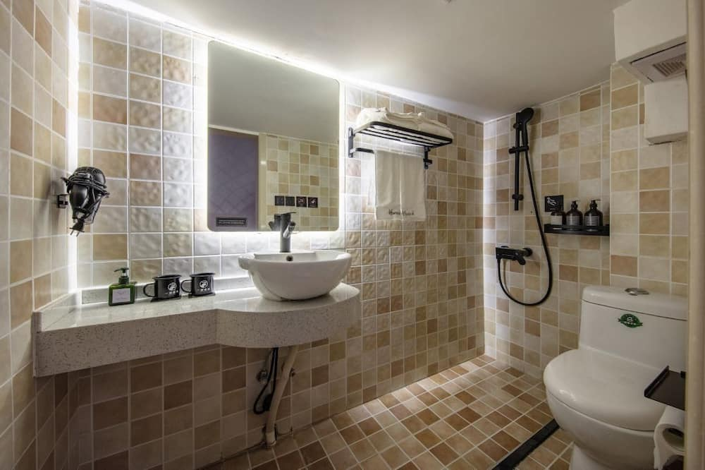 Habitación doble (Loft) - Baño