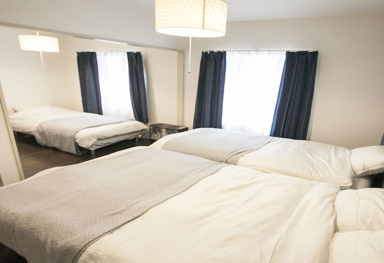 住宿 S7W12 烏奇生活飯店, 札幌, 公寓, 2 間臥室 (UCHI Living Stay S7W12), 客房