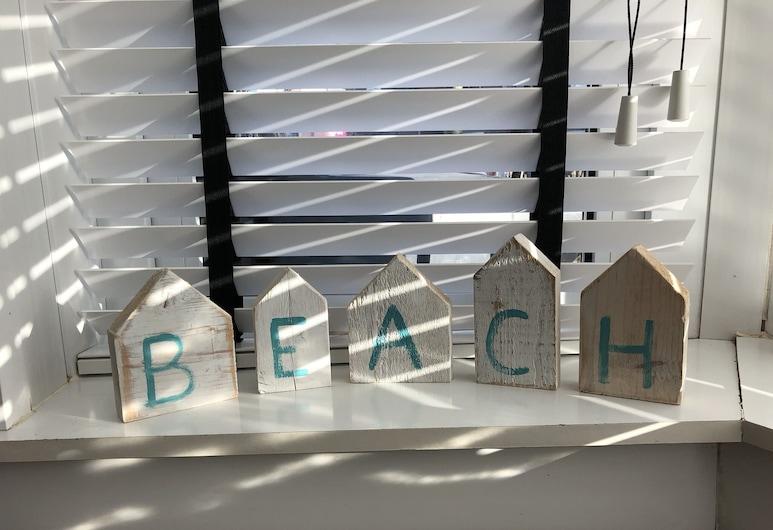 B&B Zandvoort, Zandvoort, Dzīvokļnumurs, divas guļamistabas, iekšējais pagalms, Dzīvojamā zona