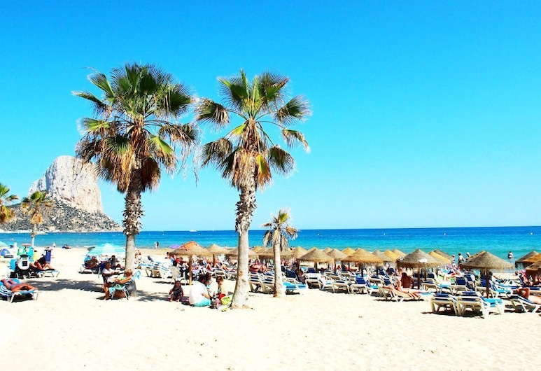 Stefano, Calpe, Pantai