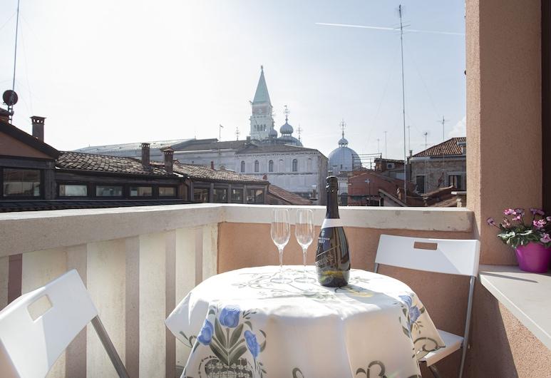 Venice Luxury Terrace View of San Marco, Venedig, Apartment, 1 Schlafzimmer, Terrasse/Patio