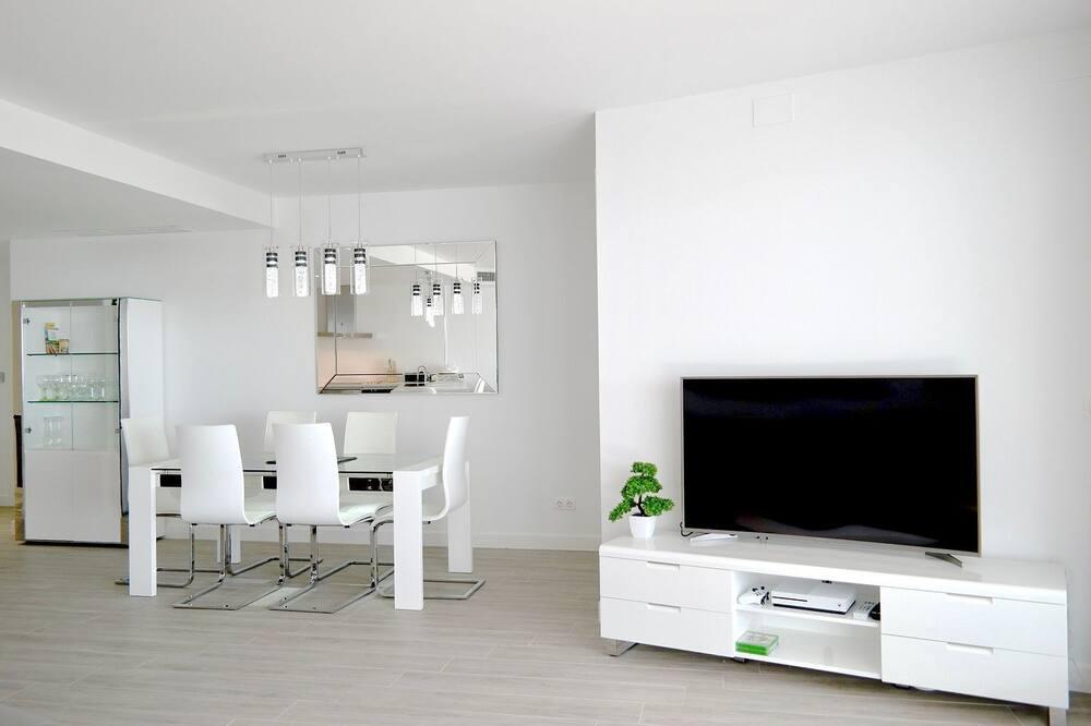 Apartmán, terasa, výhled na moře - Obývací pokoj