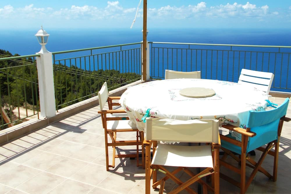 Appartamento, 3 camere da letto, vista mare (Split Level) - Balcone