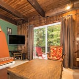 Kuća, Više kreveta, trijem, pogled na vrt - Dnevna soba
