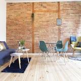 Dizaina dzīvokļnumurs - Dzīvojamā istaba