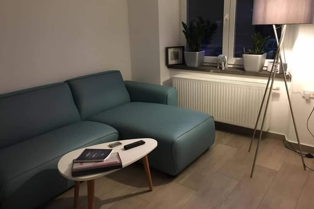 Departamento, planta baja (BREVA) - Sala de estar
