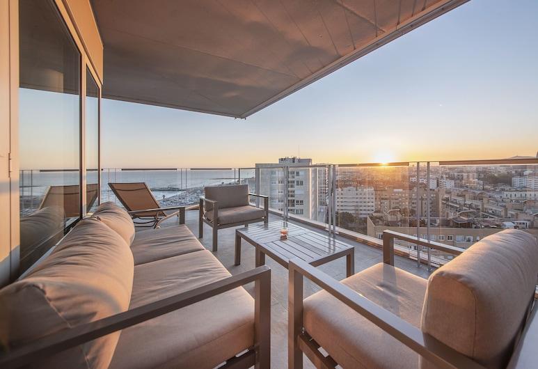 你的時尚海灘 3 號酒店, 巴塞隆拿, 豪華公寓, 5 間臥室, 露台, 海景, 陽台