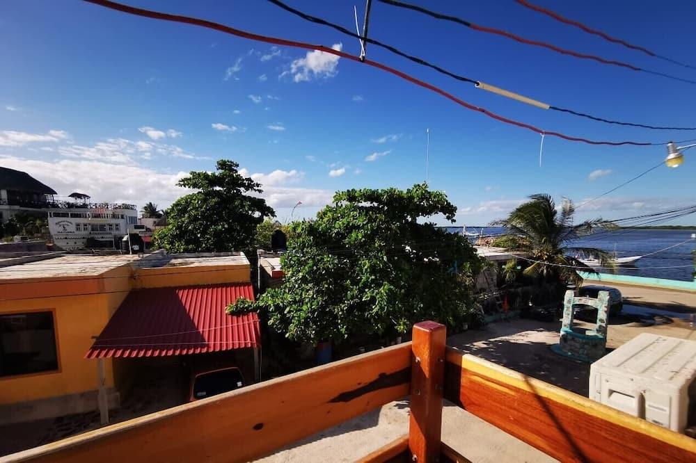 舒适客房, 1 张特大床, 阳台 - 阳台景观