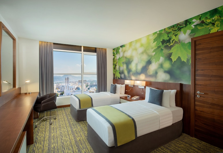 Wyndham Garden Muscat Al Khuwair, Muscat, Superior Room, 2 Single Beds, Non Smoking, Guest Room