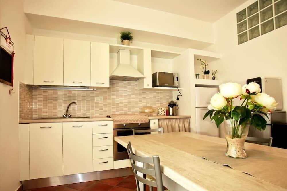 חדר זוגי או טווין, טרסה - מטבח משותף