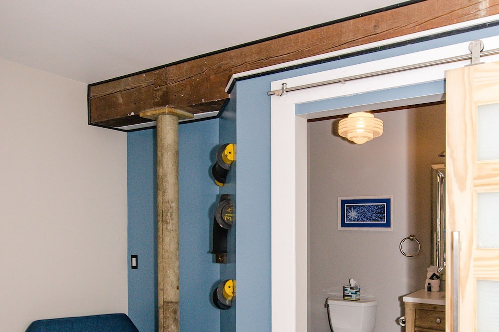 Apartament typu Superior Suite, 2 łóżka podwójne, lodówka i kuchenka mikrofalowa (Thoftne) - Powierzchnia mieszkalna
