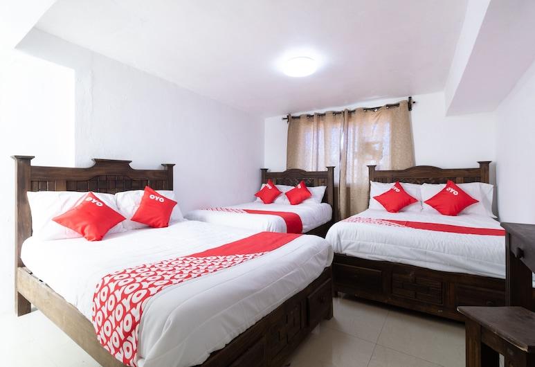 Hotel Posada Punta Guadalupe, San Cristóbal de las Casas, Standard-Vierbettzimmer, Zimmer