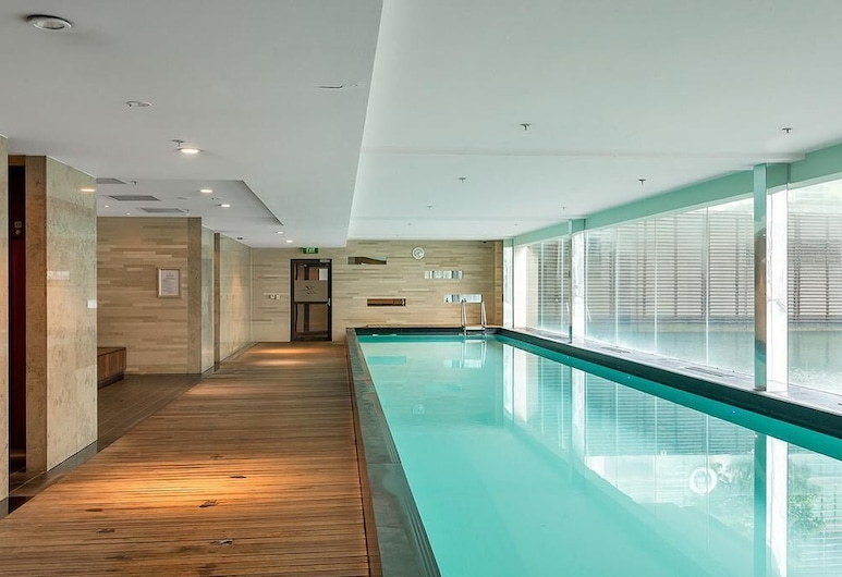 QV Ultra Modern Harbour Apartment - 856, Auckland, Indoor Pool