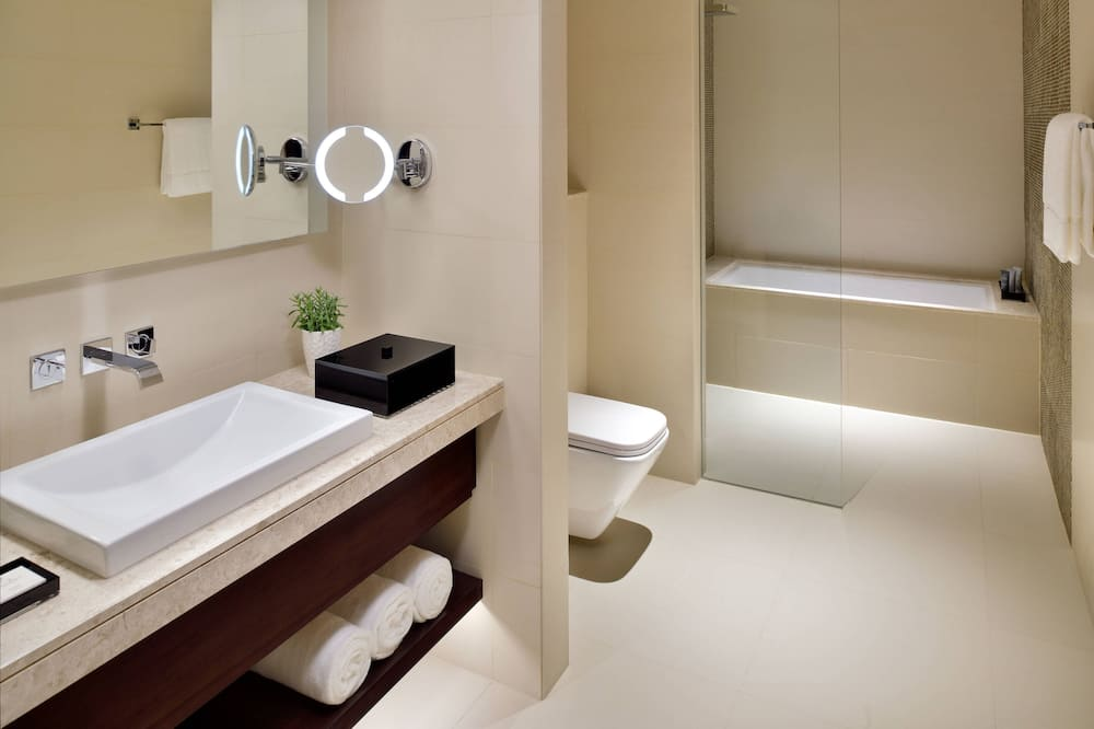 ห้องดีลักซ์, เตียงคิงไซส์ 1 เตียง, ปลอดบุหรี่ - ห้องน้ำ