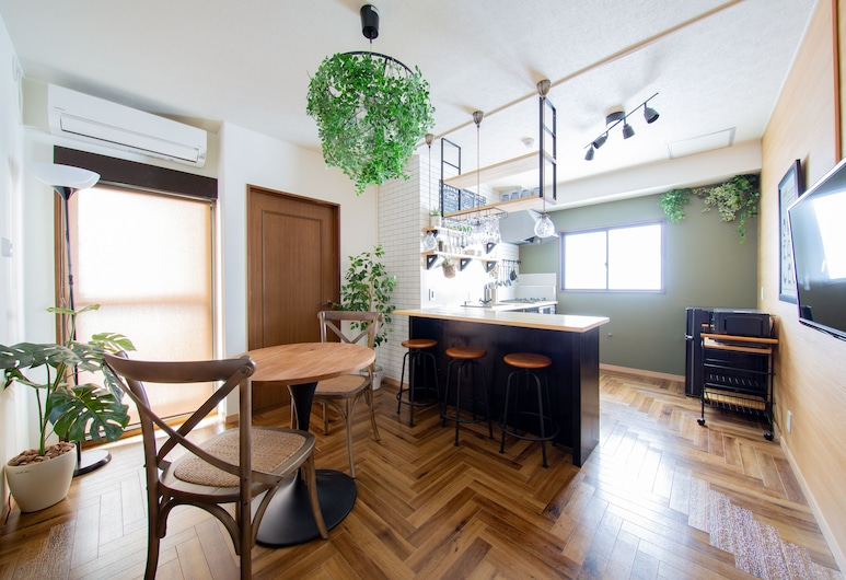 UP GRAND 塚本, ⼤阪市, アパートメント 2F, リビング エリア