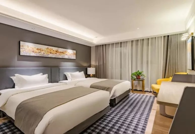 Floral Hotel Tian Cheng Airport, Zhengzhou, Economy-Zweibettzimmer (Mainland Chinese Citizen Only), Zimmer