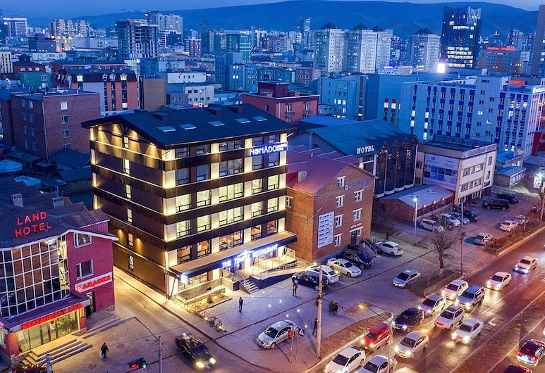 Nomado Boutique Hotel, Ulaanbaatar, Fachada do Hotel - Tarde/Noite