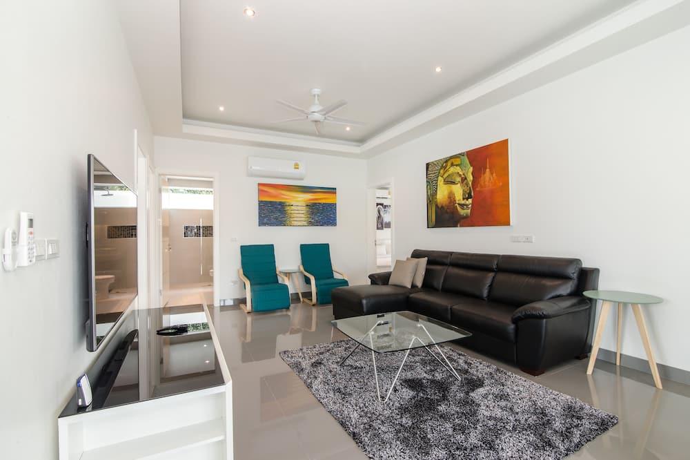 Superior-Villa, 3Schlafzimmer, Nichtraucher, Küche - Wohnzimmer