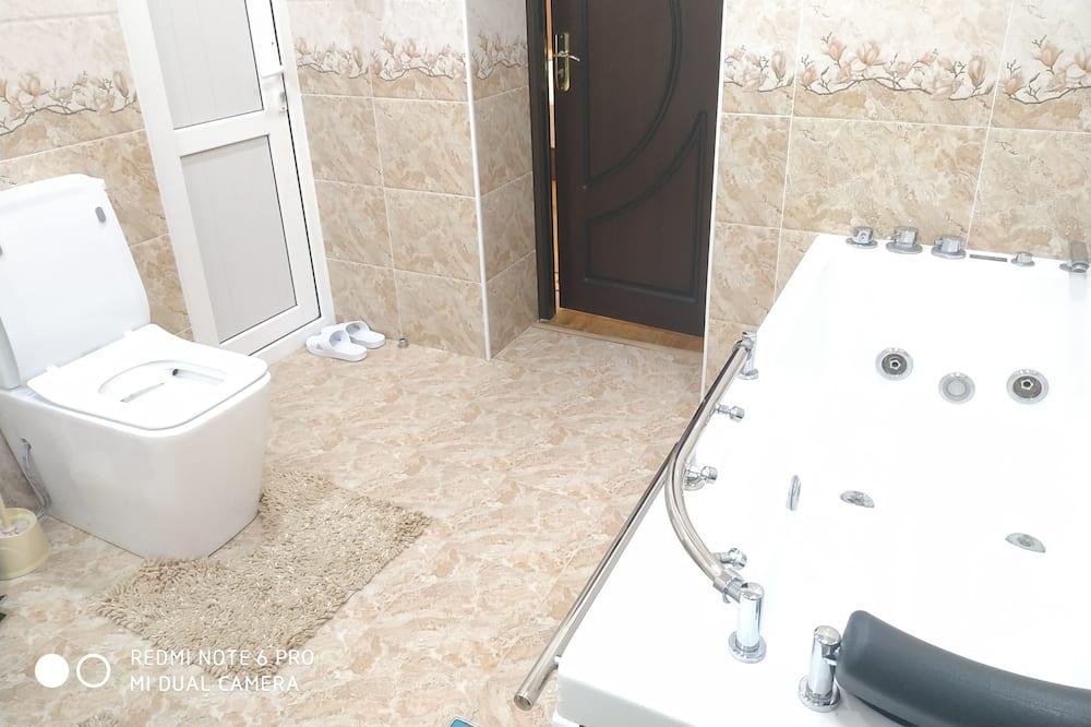 Luksusa numurs, 1 divguļamā karaļa gulta, vanna - Privātā spa vanna