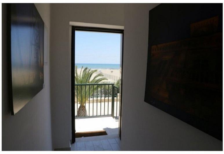 Rooms La Perla Del Mare, Margherita di Savoia, Blick vom Hotel
