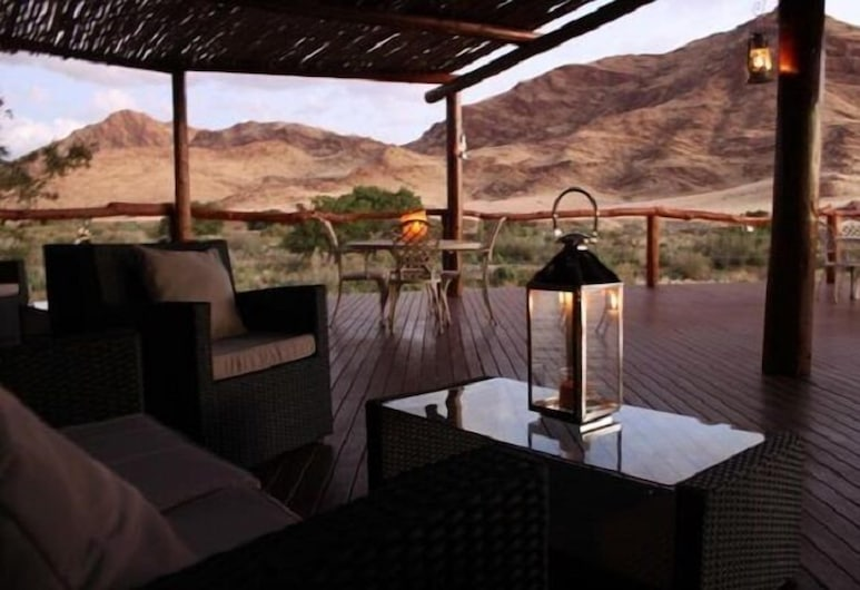 Hoodia Desert Lodge, Sesriem, Terrace/Patio