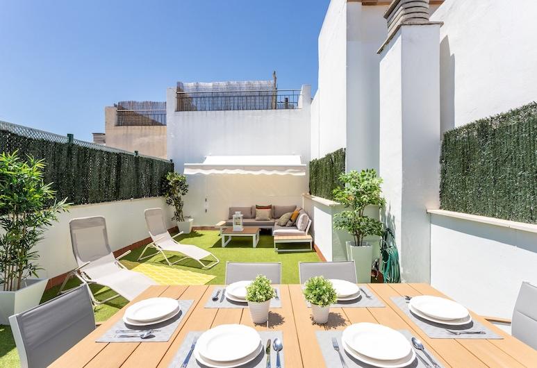 Duplex 2 Bd & Private Terrace Best Location. Francos Terrace VI, Seville, Terasa