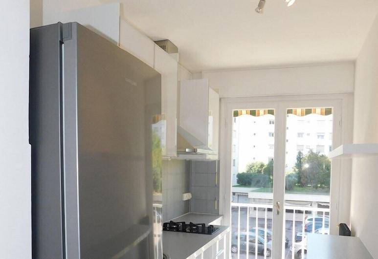 T2 Creezy centre-ville climatisé, Cannes, Appartement, Cuisine privée