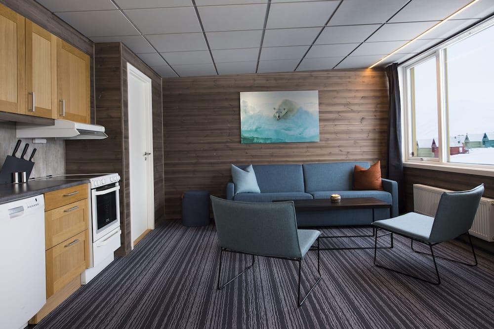 Familielejlighed - 2 soveværelser - Opholdsområde