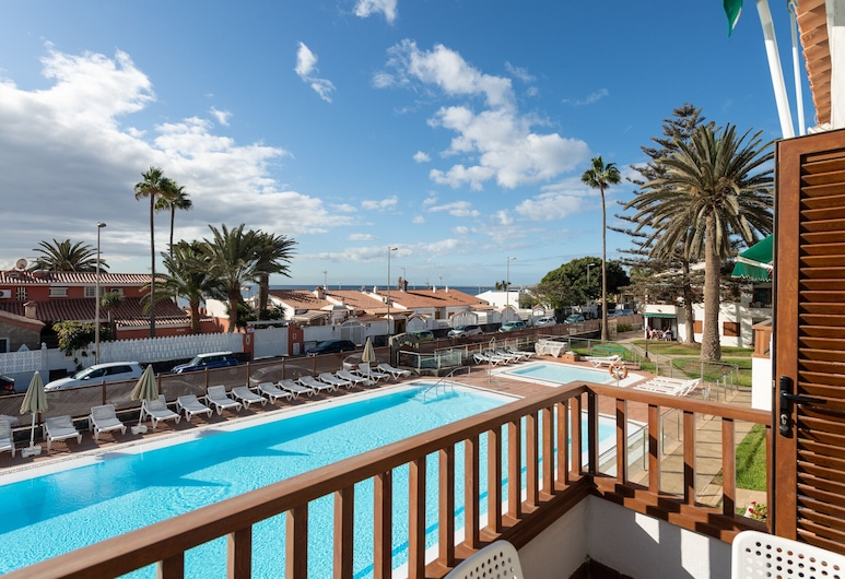 Nice Apartment Swimming Pool, Parking and Terrace, San Bartolome de Tirajana, Apartment, 2 Bedrooms, Terrace/Patio
