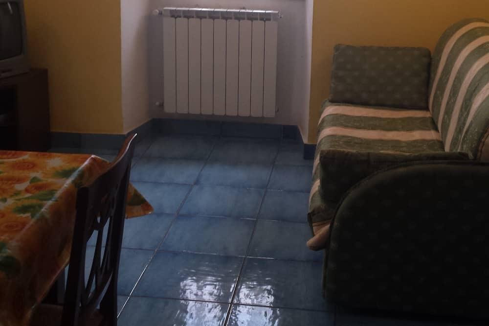 傳統公寓, 1 間臥室 - 客廳