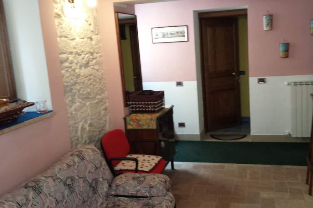 家庭公寓, 1 間臥室 - 客廳