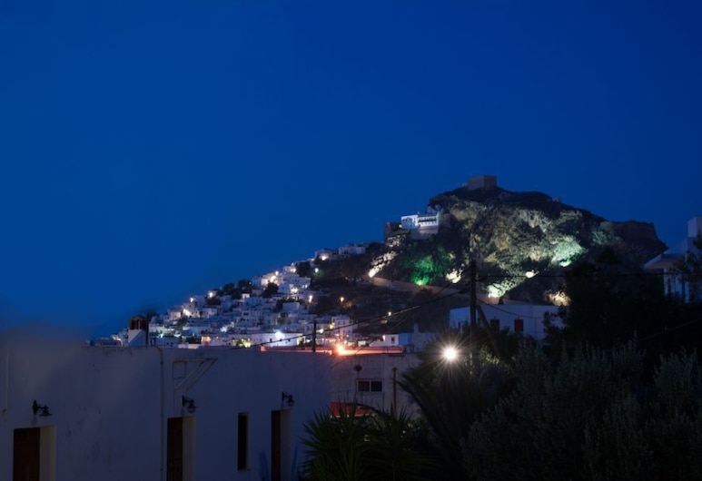 Nicolas Pension, Skiros, City view from property