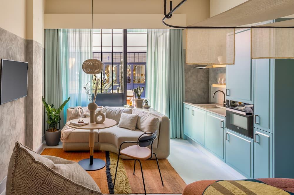 Courtyard Suite - 客廳