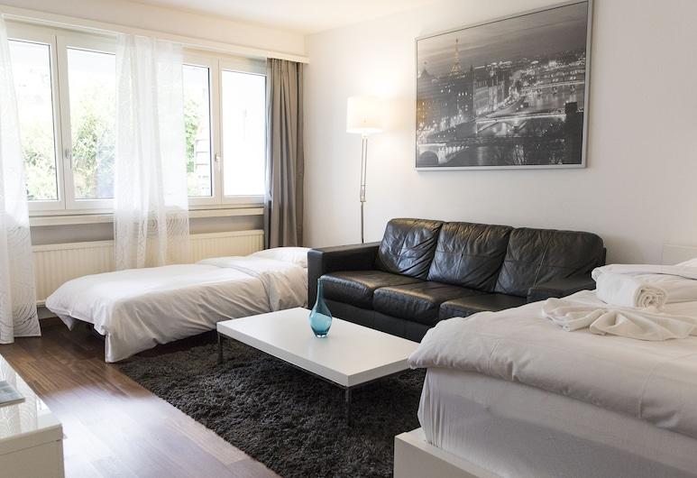 "Stunning Modern Apartment ""POCKET WiFi"", Zurych, Apartament, Salon"