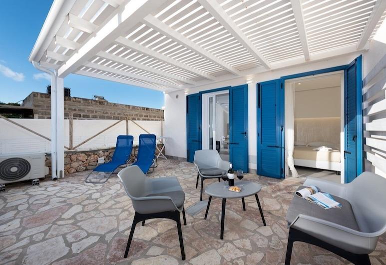I tre Golfi Isule Apartments Bilo piano terra, San Vito Lo Capo, Apartment, 1 Schlafzimmer, Terrasse/Patio