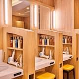Deluxe 2Capsule Rooms for Female(Upper) - Bathroom