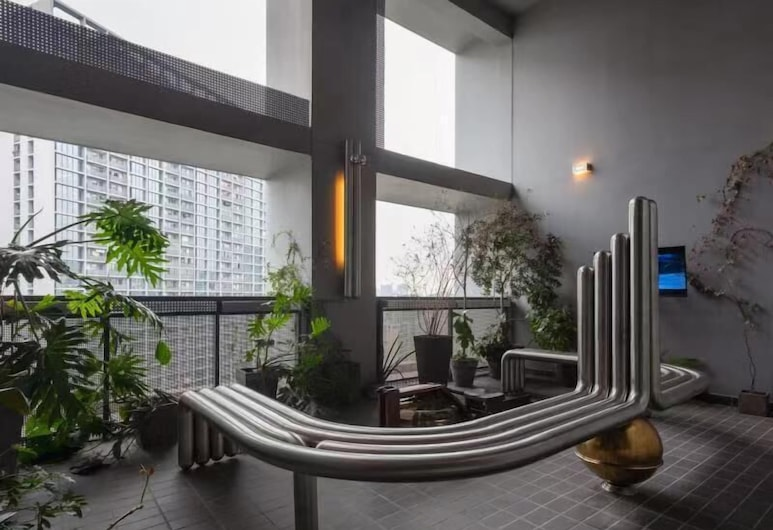 Hangzhou Future Space Apartment, Hangzhou, Suite, 2 chambres, Terrasse/Patio