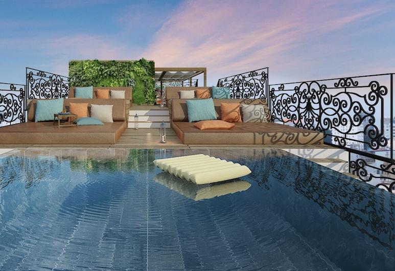 指標西貢 - 豪華設計飯店, 胡志明市, 室外游泳池