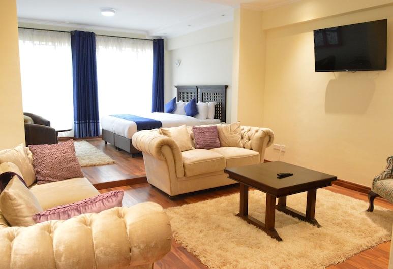 Cranes Suites Hotel, คิตาลี, ห้องเอ็กเซกคิวทีฟ, ห้องพัก